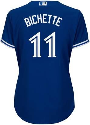 Majestic Bo Bichette Toronto Blue Jays MLB Cool Base Replica Away Jersey Top