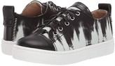Giuseppe Zanotti Kids SBI9408 (Toddler/Little Kid) (Black/White) Kid's Shoes