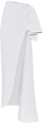 Maticevski Dream high-rise crepe maxi skirt