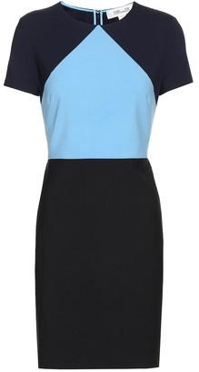 Diane von Furstenberg Wool-crApe minidress