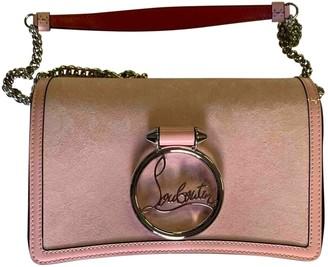 Christian Louboutin Rubylou Pink Suede Handbags