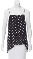 Intermix Silk Polka Dot Top