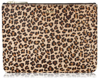 Biba Large Leather Pouch