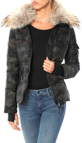 SAM. Camo Freestyle Jacket with Fur