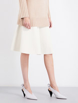 Protagonist Flared stretch-knit skirt