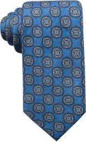 Tasso Elba Men's Medallion Wool Tie, Created for Macy's