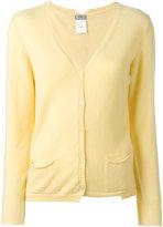 Kristensen Du Nord - cashmere v-neck cardigan - women - Cashmere - 2
