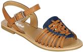 Soda Sunglasses Tan & Blue Milene Sandal