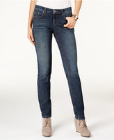 Style&Co. Style & Co. Petite Studded Straight-Leg Jeans, Only at Macy's