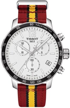 Tissot Men's Quickster Chronograph NBA Miami Heat Watch, 42mm