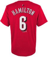 Majestic Kids' Billy Hamilton Cincinnati Reds Player T-Shirt