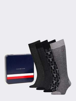Tommy Hilfiger 4-Pack Men's Knee High Socks
