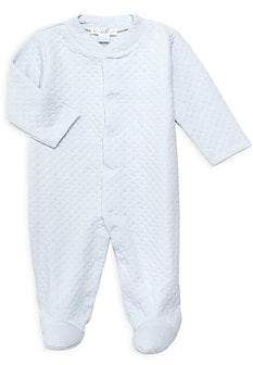 Kissy Kissy Baby Boy's Quilted Footie