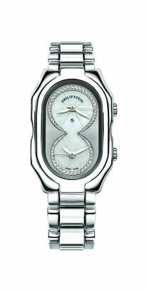 Philip Stein Teslar 11-iptw-ssLadies WatchAnalogue QuartzMother of Pearl DialSteel Bracelet