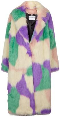 Stand Studio Clara Faux Fur Coat