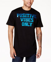 Sean John Men's Positive Vibes Metallic-Print T-Shirt