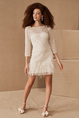 BHLDN Maude Dress By in White Size 2