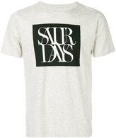 Saturdays NYC overlap T-shirt