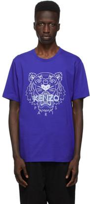Kenzo Blue Classic Tiger T-Shirt