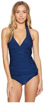 LaBlanca La Blanca - Midnight Rain Halter Goddess Tankini Top Women's Swimwear