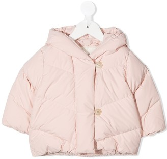 Bonpoint Button-Down Padded Coat