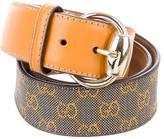 Gucci Multicolor GG Belt