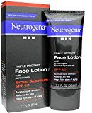 Neutrogena Men Triple Protect Face Lotion with Sunscreen SPF 20 1.70 oz (Pack of 3)