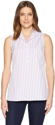Foxcroft Women's Dani Non Iron Stripe Shirt