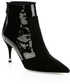 Paul Andrew Citra Suede& Leather Bootie