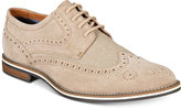Bar III Men's Axel Suede Wingtip Oxfords, Only at Macy's