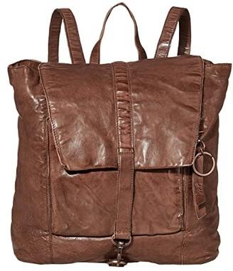 Frye Rubie Backpack (Dark Brown) Backpack Bags