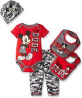 Disney Baby Mickey Mouse 5 Piece Layette Box Set
