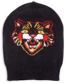 Gucci Serious Tiger Wool Beanie