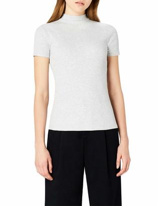 Meraki Amazon Brand Women's Slim Fit High Neck T-Shirt