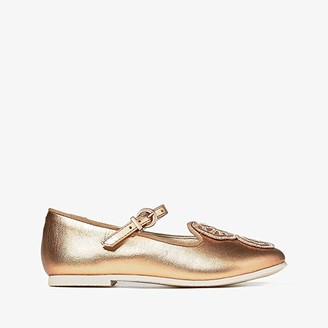 Sophia Webster Bibi Butterfly (Toddler/Little Kid) (Rose Gold/Gold Glitter) Women's Shoes