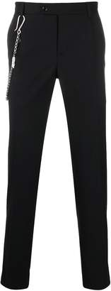 Daniele Alessandrini tailored slim fit trousers