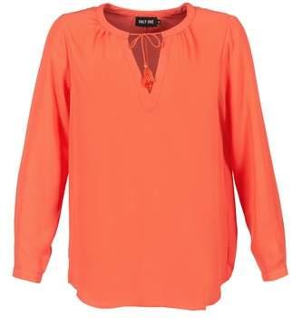Only FIA MELINA women's Blouse in Orange