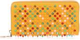 Christian Louboutin Panettone yellow multi-tone spikes wallet