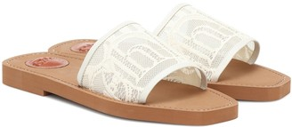 Chloé Woody lace sandals