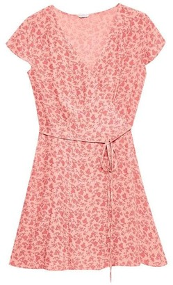 Jack Wills Lockerley Printed Soft Tea Dress