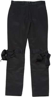 Chanel Black Cotton Trousers