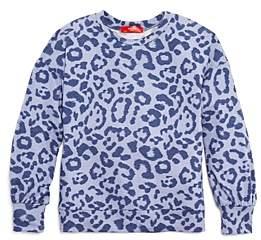 Aqua Girls' Leopard Print Top, Big Kid - 100% Exclusive