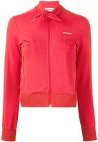 Balenciaga tie neck jacket - women - Polyamide/Spandex/Elastane - 34