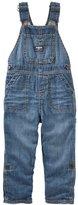 Osh Kosh Toddler Boy Roll-Tab Denim Overalls