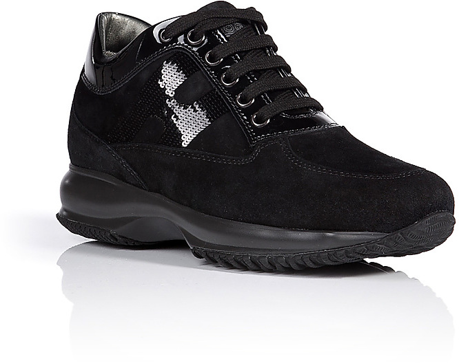Hogan Suede Interactive Sneakers