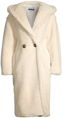 Apparis Mia Hooded Longline Coat