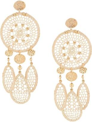 Gas Bijoux Fanfaria drop earrings
