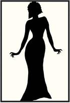 Jonathan Bass Studio Fashion Icon Series 1930'S, Decorative Framed Hand