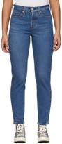 Levi's Levis Blue Wedgie Icon Fit Jeans