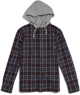 Vans Lopes Hooded Flannel Shirt